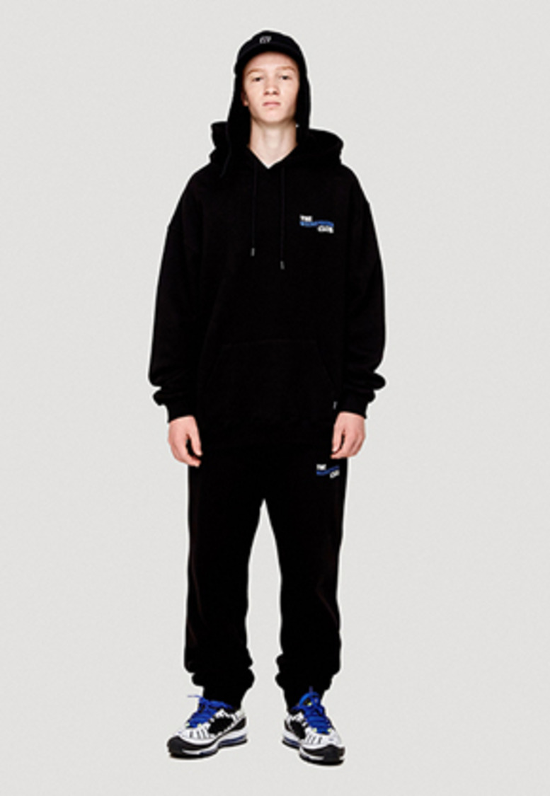 WKNDRS위캔더스 THE WEEKENDERS SWEAT PANTS (BLACK)