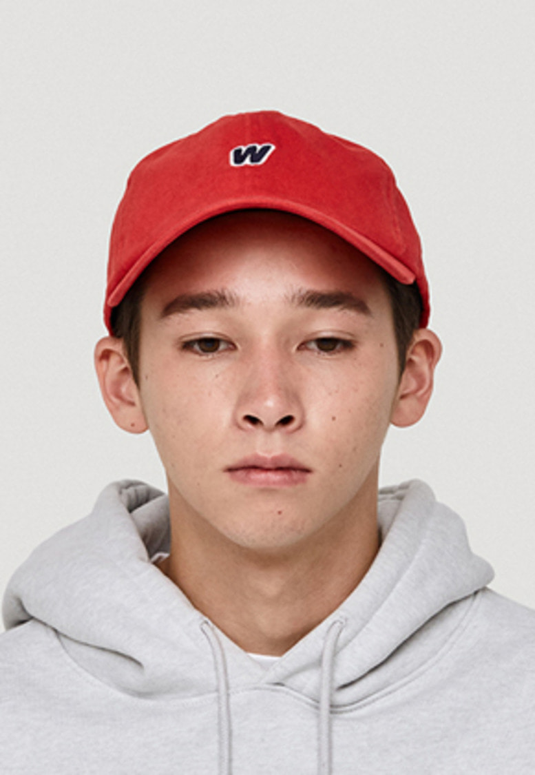 WKNDRS위캔더스 W LOGO CAP (RED)