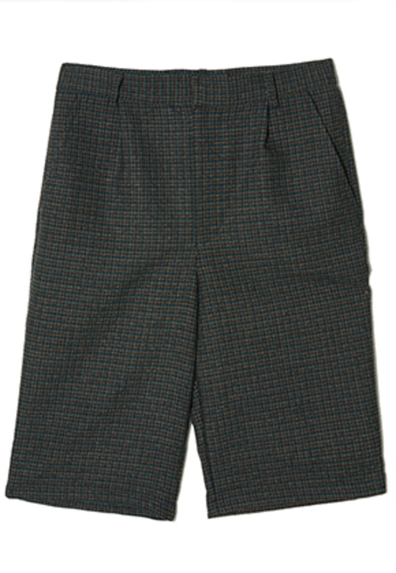 Etre에트르 SMALL TARTAN CHECKS HALF PANTS