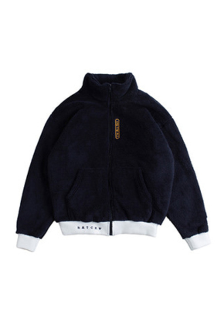 Romantic Crown로맨틱크라운 Yeti Zip Up Jacket_Navy
