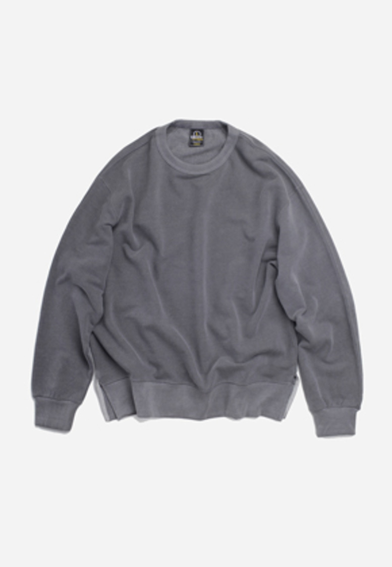 FRIZMWORKS프리즘웍스 Pigment sweat shirt _ charcoal