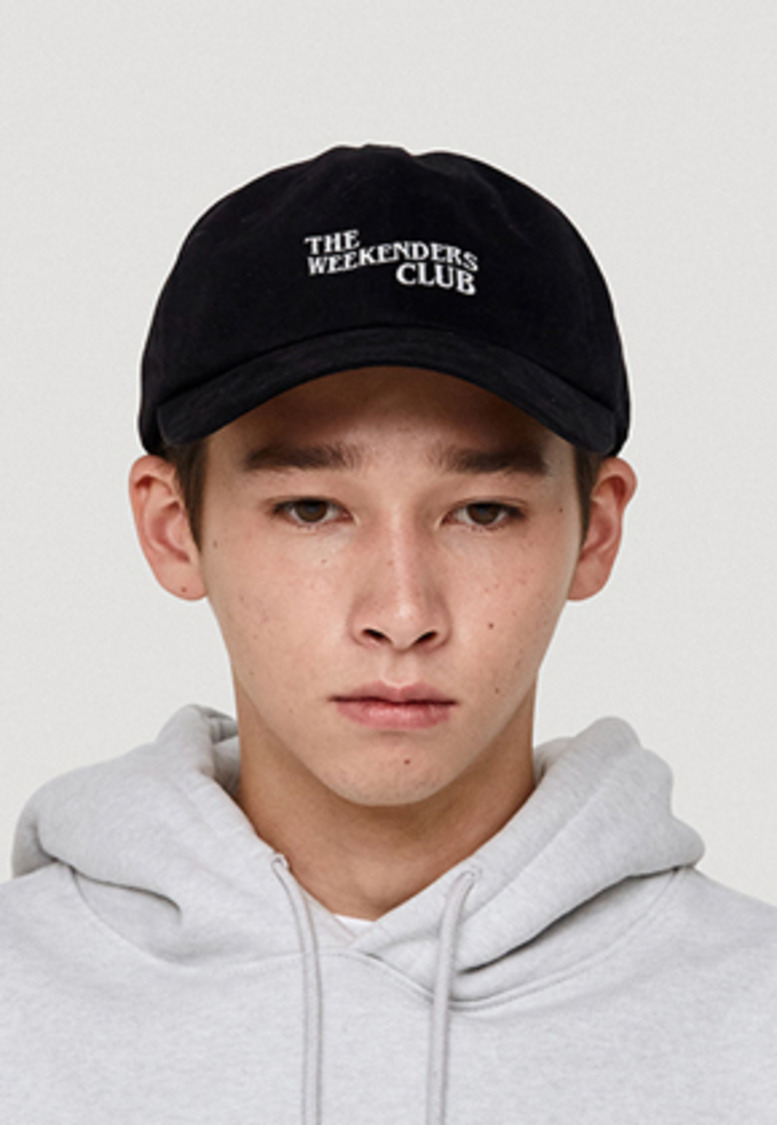 WKNDRS위캔더스 THE WEEKENDERS CLUB CAP (BLACK)