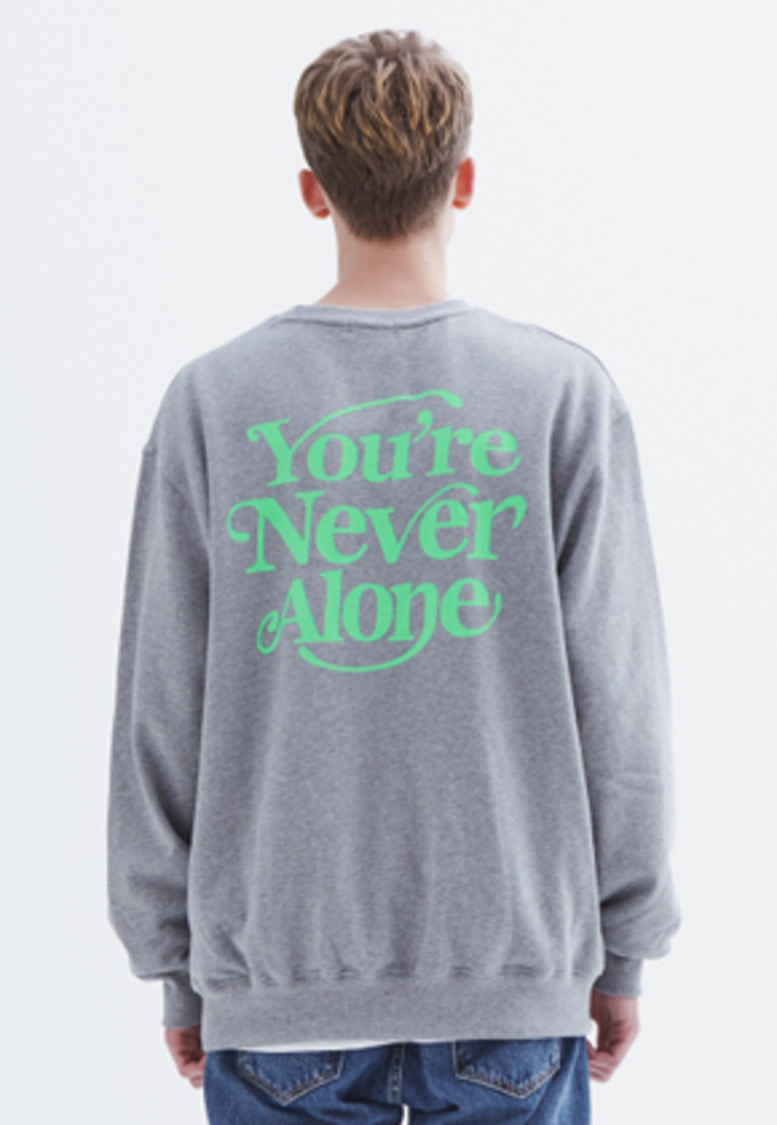 MMGL미니멀가먼츠랩 YNA semi-oversized sweatshirt (M/grey)