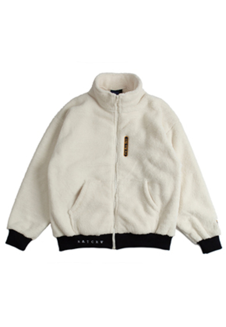 Romantic Crown로맨틱크라운 [11월 2일 예약배송] Yeti Zip Up Jacket_Oatmeal