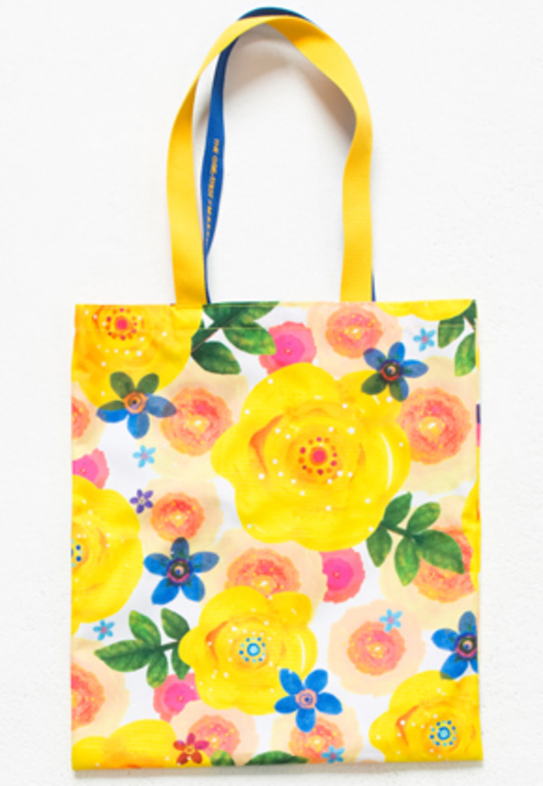 The Greatest더 그레이티스트 [ GT X MARYMOND ] GTXMMD 08 Yellow Rose Eco Bag