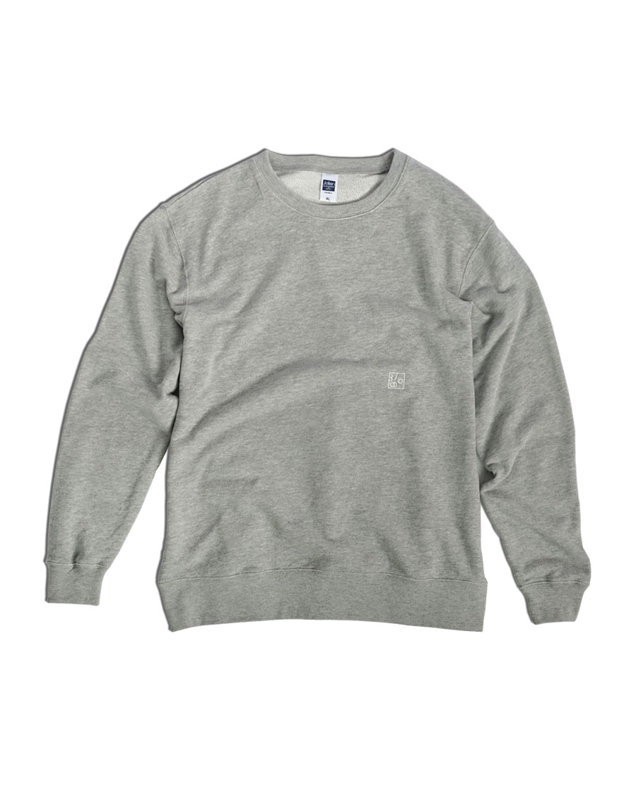 THREE TO EIGHTY쓰리투에이티 Embroidery MTM - Grey