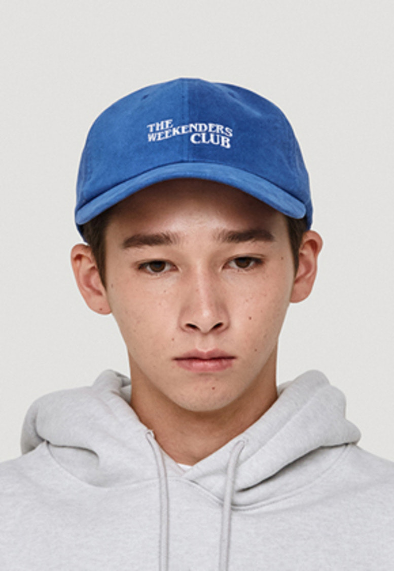 WKNDRS위캔더스 THE WEEKENDERS CLUB CAP (BLUE)