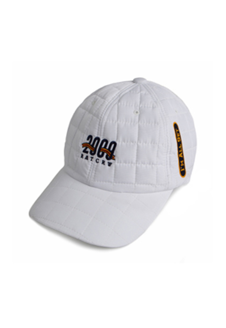 Romantic Crown로맨틱크라운 2009 Quilting Ball Cap_White