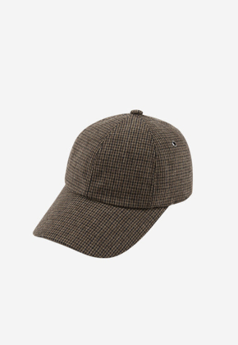 Anderssonbell앤더슨벨 UNISEX CHECK BASEBALL CAP aaa084u(Hound tooth)