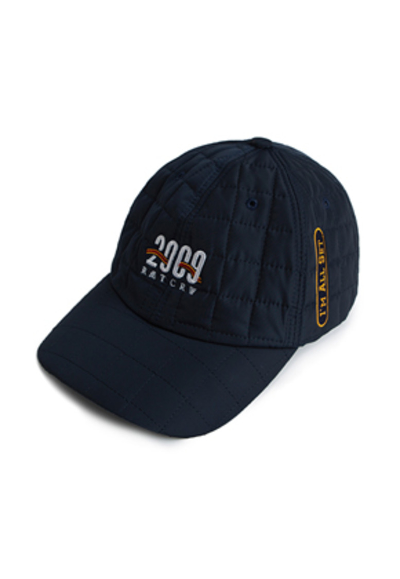 Romantic Crown로맨틱크라운 2009 Quilting Ball Cap_Navy