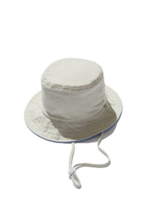 KIT키트 Napping reversible bucket hat (Ivory&Blue)