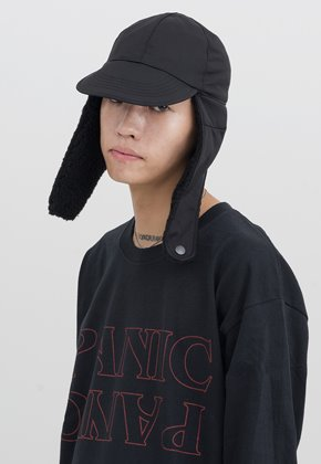 Gakuro가쿠로 Flight Cap (Black)