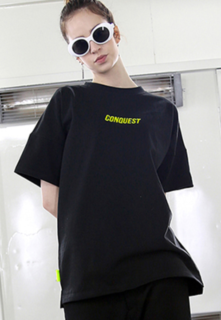 RDVZ CONQUEST T-SHIRTS BLACK