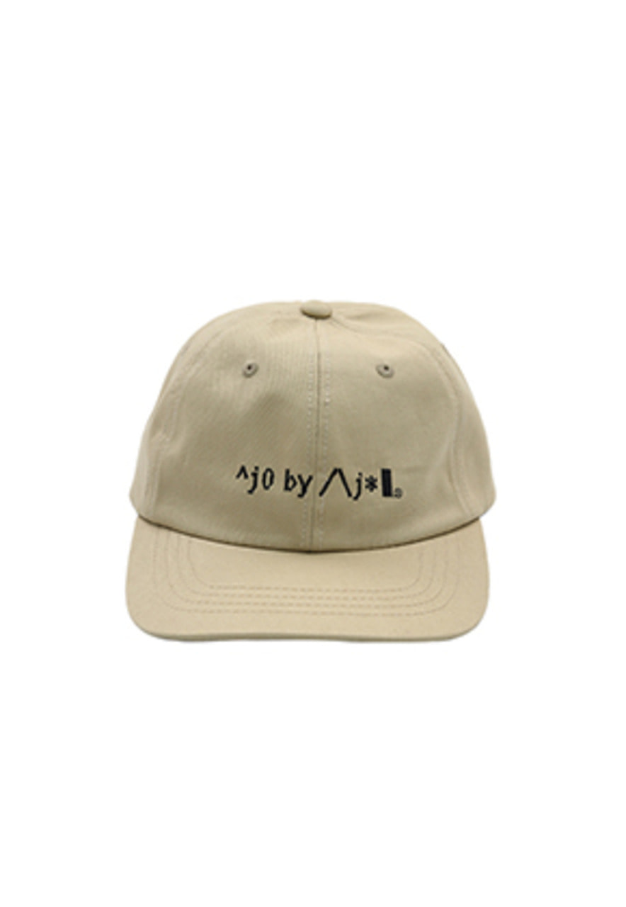 AJO BY AJO FINK LABEL Logo Twill Cap [Beige]