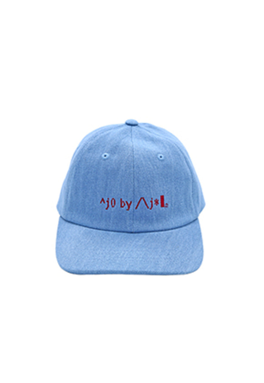 AJO BY AJO FINK LABEL Logo Twill Cap [Denim]