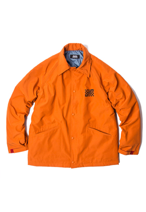 SANDPIPER샌드파이퍼 GRUNGE WIND BREAKER JACKET ORANGE
