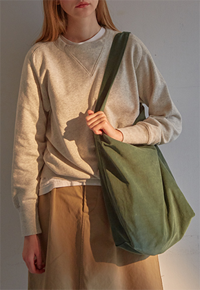 Muimono무이모노 CORDUROY DAILY BAG (3 COLORS)