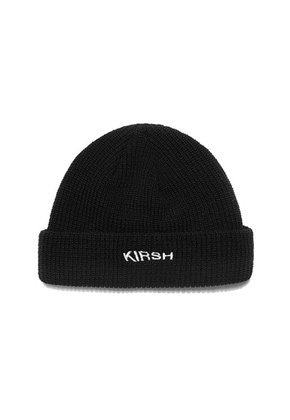 KIRSH키르시 [당일배송] BEANIE HAT HA [BLACK]