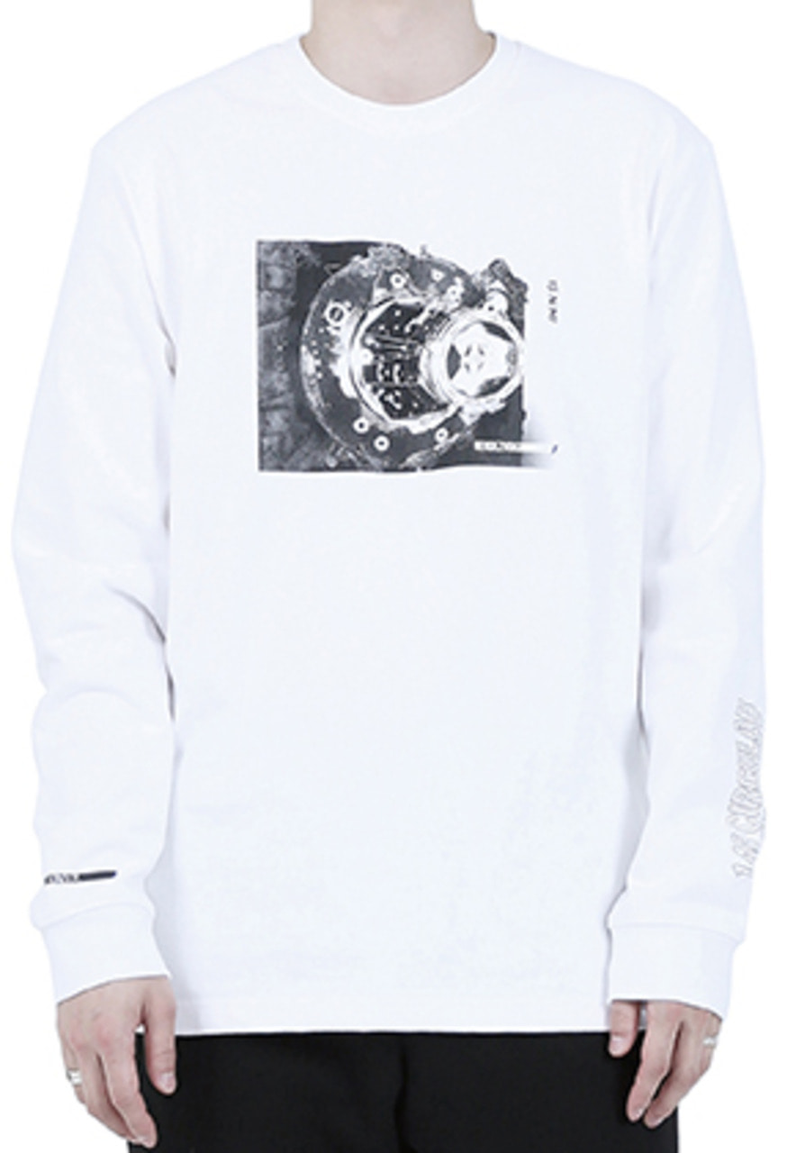 RDVZ DOCKING LONG SLEEVE WHITE
