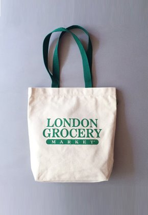 London Grocery Market런던그로서리마켓 Grocery Tote Bag