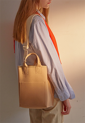 Muimono무이모노 CANVAS MINI TOTE (3 COLORS)