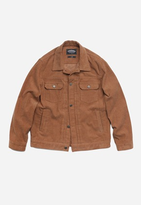 FRIZMWORKS프리즘웍스 Around trucker jacket _ camel