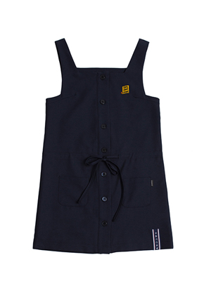 Romantic Crown로맨틱크라운 GNAC Waist Dress_Navy