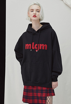 Millogrem밀로그램 MLGM Napping Hoody - black