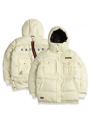 Romantic Crown로맨틱크라운 ALL SET Goose Down Parka_Oatmeal