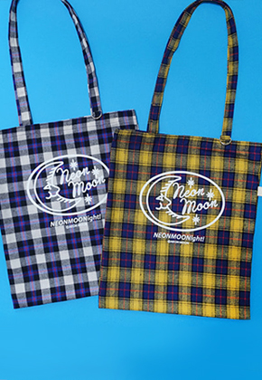 NEONMOON네온문 CHECK LOGO BAG