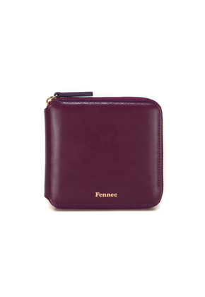 Fennec페넥 ZIPPER WALLET - PLUM PURPLE