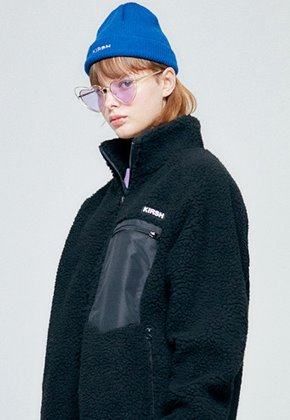 KIRSH키르시 [당일배송] FLEECE JACKET HA [BLACK]