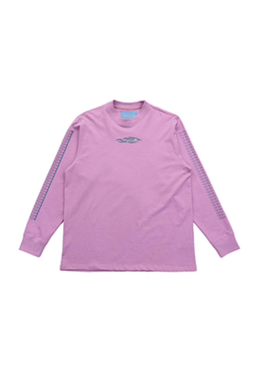 AJO BY AJO FINK LABEL Tribal Long Sleeve T-Shirt [Pink]