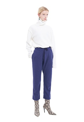 Vuiel뷔엘 FIELD_LOUNGE_KNIT_PANTS - PURPLE
