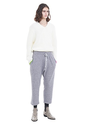 Vuiel뷔엘 FIELD_LOUNGE_KNIT_PANTS - GREY