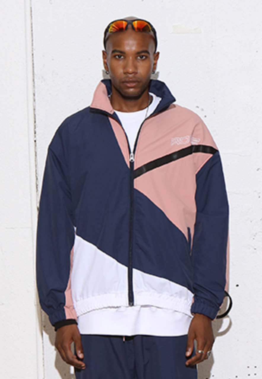 RDVZ DIAGONAL 3.0 WINDBREAKER NAVY