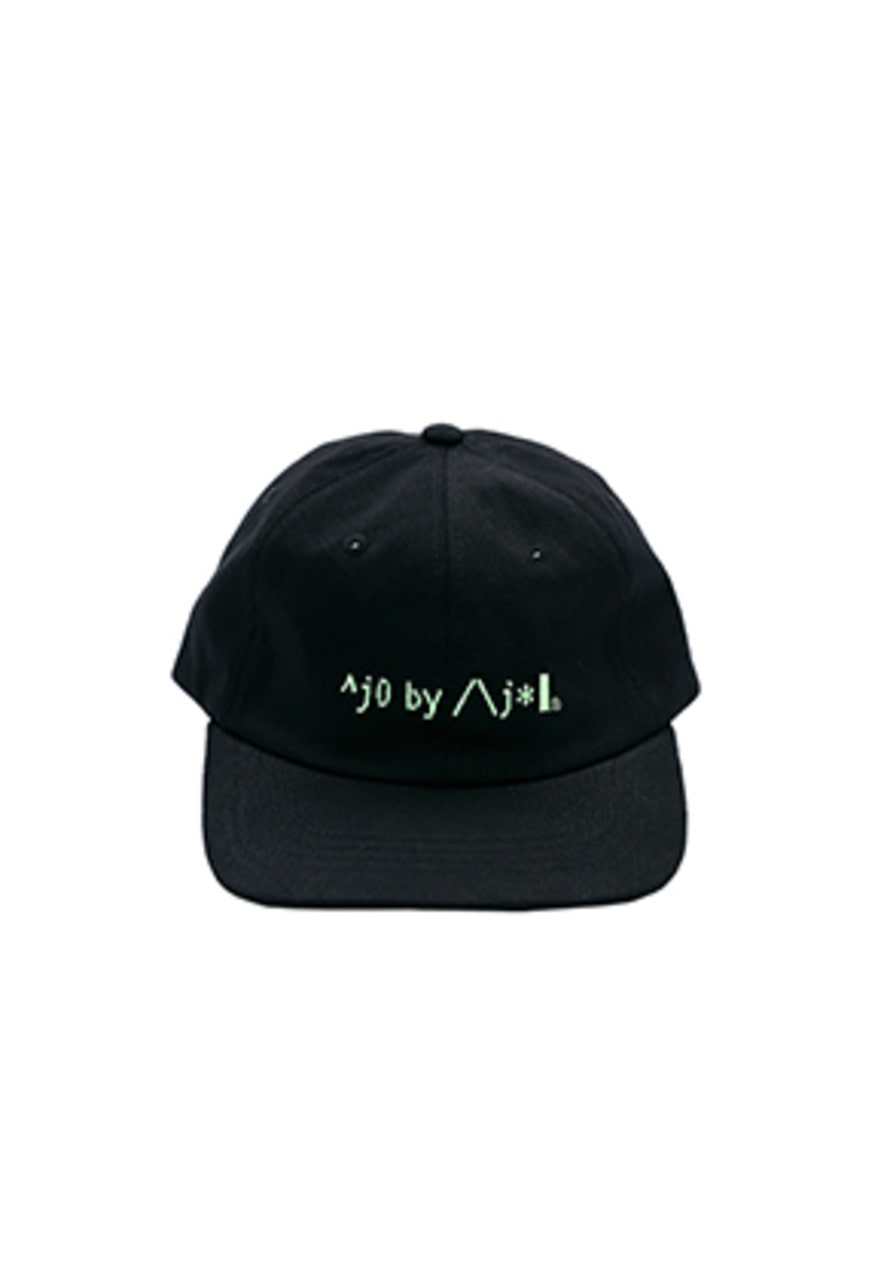 AJO BY AJO FINK LABEL Logo Twill Cap [Black]