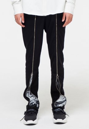 The Greatest더 그레이티스트 GT18FW12 EFFECT ZIPUP PANTS