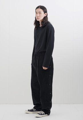 Gakuro가쿠로 Tearaway Pants (Black)