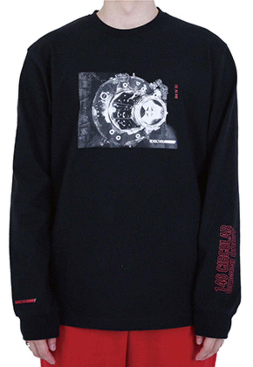 RDVZ DOCKING LONG SLEEVE BLACK