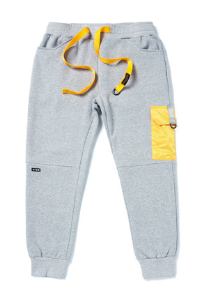 Stigma스티그마 STGM POCKET HEAVY SWEAT JOGGER PANTS GREY