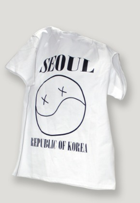 Object오브젝트 SEOUL SMILE T-SHIRT (WHITE)