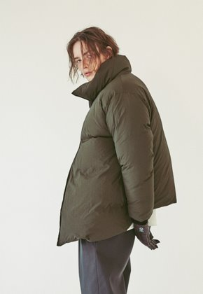 Ooparts오파츠 OPT18FWJK03OL Duck Down Double Jacket Olive