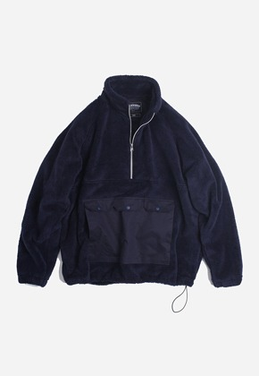 FRIZMWORKS프리즘웍스 Grizzly high neck pullover _ navy