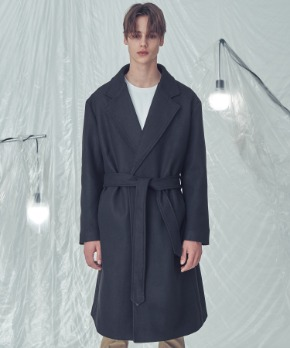 Trip LE Sens트립르센스 LE ROBE COAT BLACK