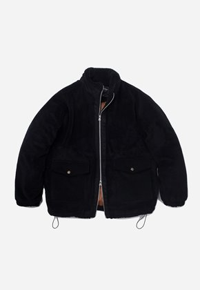 FRIZMWORKS프리즘웍스 Heavy fleece grizzly jacket _ black