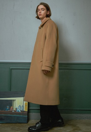 MMGL미니멀가먼츠랩 Long mac coat (Wool-camel)