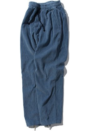 Kruchi크루치 Corduroy Easy Pants - (blue)