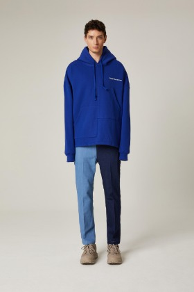 PIANARI피어나리 PIANARI signature pocket hood (Blue)