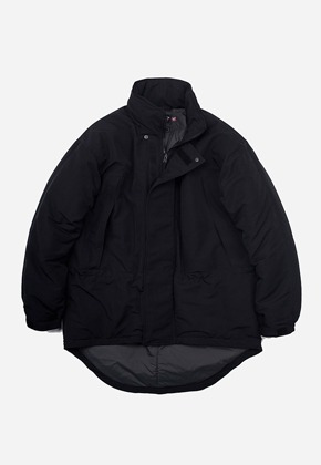 FRIZMWORKS프리즘웍스 Level7 type2 monster parka _ black